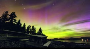 Northern Lights in Acadia