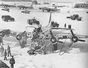 B-17G crash in Presque Isle, Maine March 11,1944