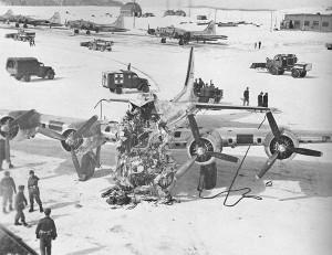 B-17G crash in Presque Isle, Maine March 11,1944