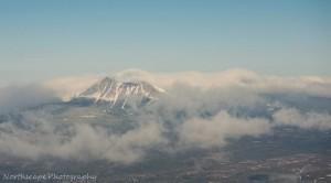 Katahdin and Clouds