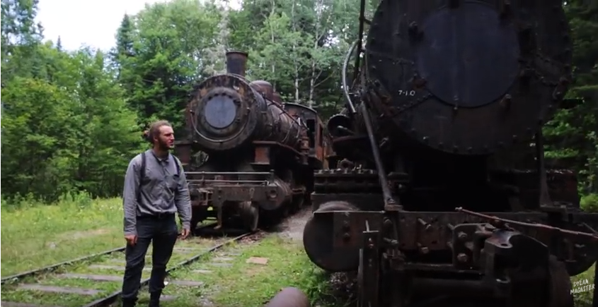 Trip to Maine's Lost Locomotives