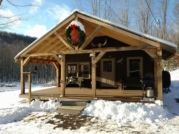 log home for sale - oakfield, maine