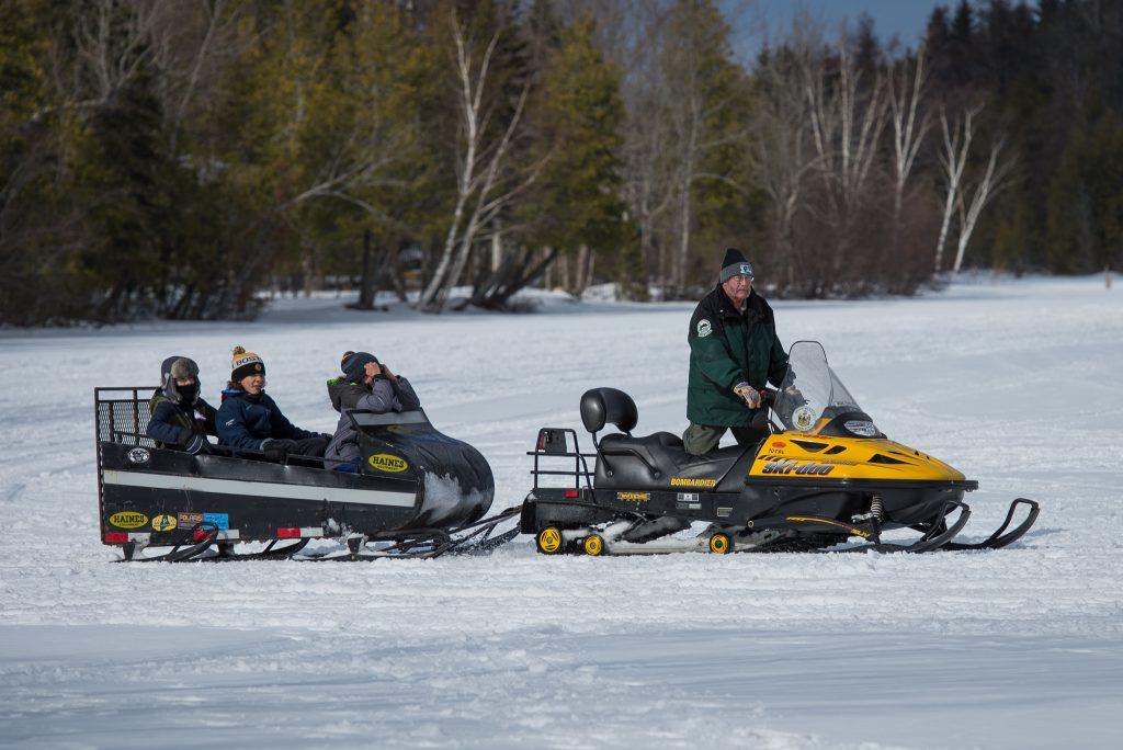 winter fun day at Aroostook State Park in Presque Isle