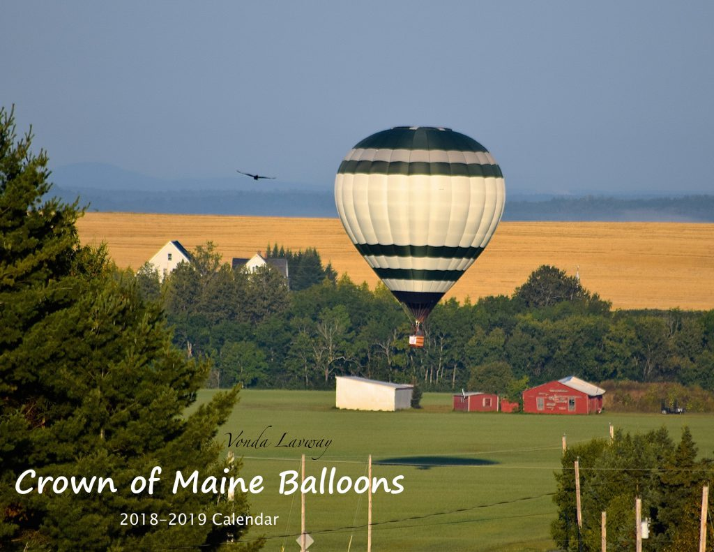 Crown of Maine Balloon Festival Calendar