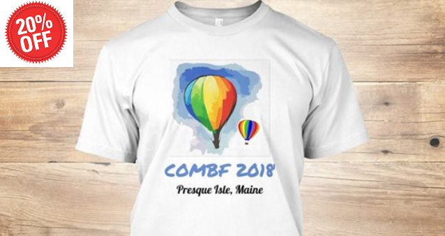 Crown of Maine Balloon Fest T-Shirt